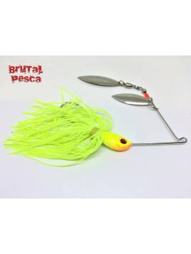 SPINNERBAITS BRUTAL CHARTREUSE  3/8 Oz