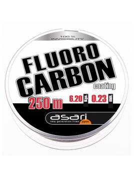 HILO ASARI FLUORCARBONO COATING 0.25 MM