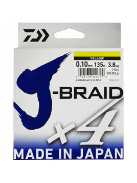 DAIWA JBRAID 4X 135 MTS 0.13 MM
