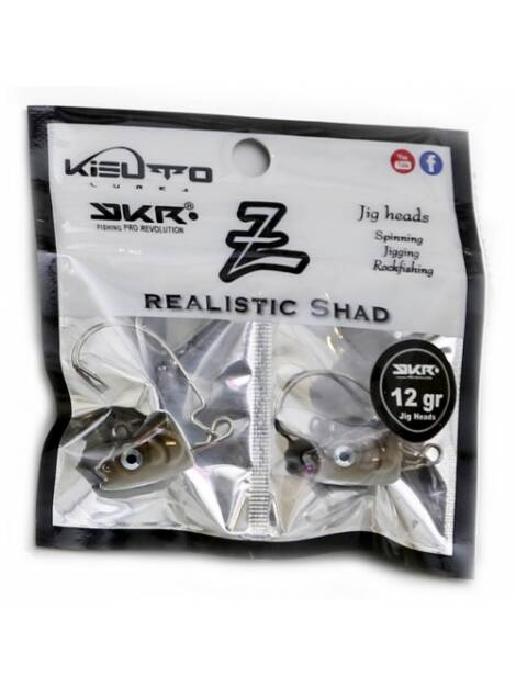 KISUTO JIG HEAD BROWN 12 GRS