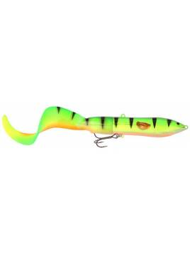 SAVAGE GEAR HARD EEL TAIL BAIT 25 OLIVE GOLD