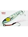 SAVAGE GEAR JIG MINNOW 40 BONE WHITE GLOW