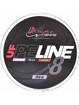 ULTIMATE FISHING UF PE LINE 8X 0.13 MM